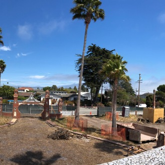 Pano view of site