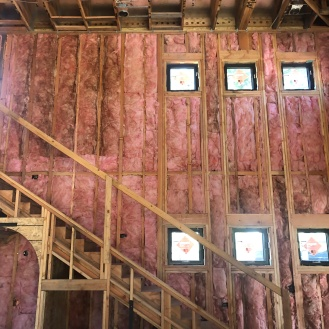 all insulation is in...ready for drywall